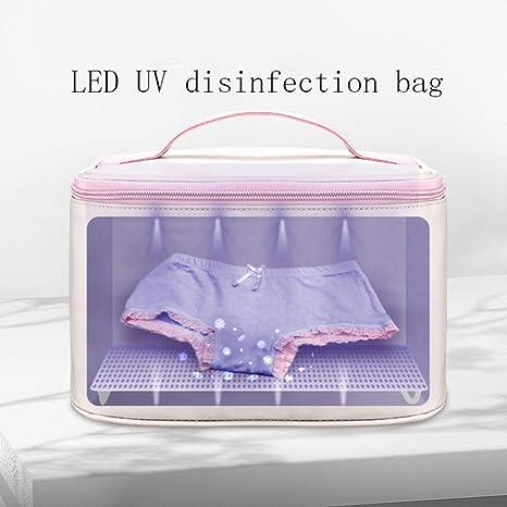 Esterilizador de UV Caja LED Bolsas de desinfección con USB ...