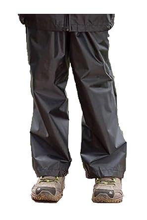 4e06ff6692f25 New Kids Boys Girls Regatta Stormbreak Waterproof Rain Over Trousers Age:  2-16: Amazon.co.uk: Clothing