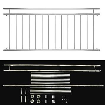 Französischen Balkon 90x184cm geländer für französischen balkon aus edelstahl fenster
