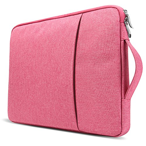 GMYLE 2 in 1 Bundle Pink Marble Soft-Touch Plastic Hard Case for Old MacBook Pro 13 Inch with Retina Display (Model: A1502/A1425) & Water Resistant Protective Laptop Bag Sleeve with Handle,Pink by GMYLE (Image #9)