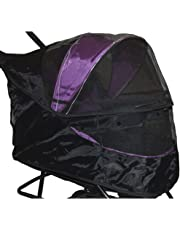 Pet Gear Special Edition Weather Cover for No Zip Pet Stroller, Black