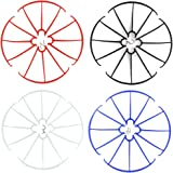 Coolplay Syma X5 X 5C X5C-1 X 5SC X5SW 16PCS Blades Protection Frame Guard Propeller Protectors Spare Parts for RC Quadcopter Drone