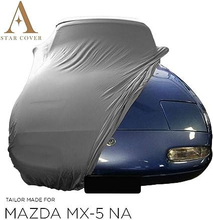 Star Cover Autoabdeckung Grau Mazda Mx 5 Na SchutzhÜlle Abdeckplane Schutzdecke Vollgarage Auto