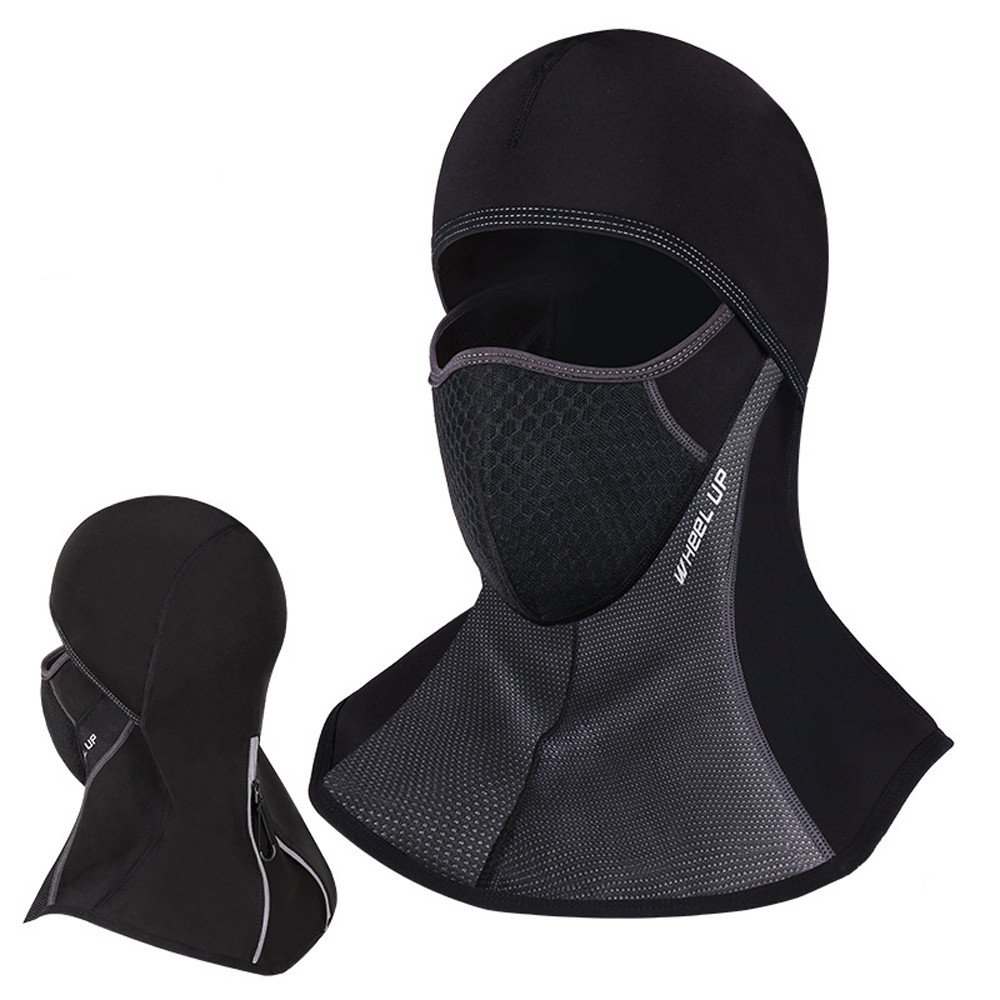 Chartsea Winter Face Mask Neck Cap Windproof Cycling Dustproof Masks Black Color Breathable