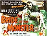 Bride Of The Monster - 1955 - Movie Poster