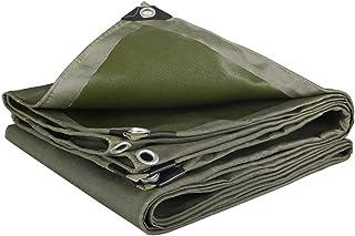 Z & YY Espesar Tarpauline Heavy Duty Tarpauline Impermeable Aislamiento Exterior Lona de Suelo Cubiertas de la Tienda Empalme