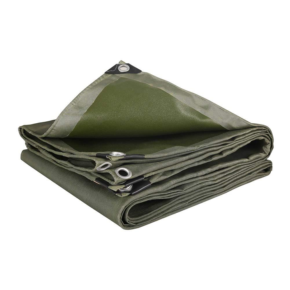 HQCC Verdicken Sie Heavy Duty-Plane-Wasserdichte Plane-Isolierungs-Plane im Freien Plan-Blatt-Abdeckungs-Zelt-Spleiß (größe   5x6m)