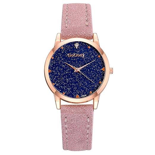 2019 Escala Numeral Starry Dial Dial Cuarzo Reloj Mujer ...