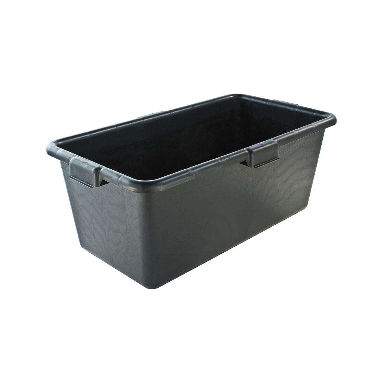 TEKO 105095-49 M/örteltrog aus PVC Inhalt 65 Liter Profi Ausf/ührung mit 4 Tragegriffen