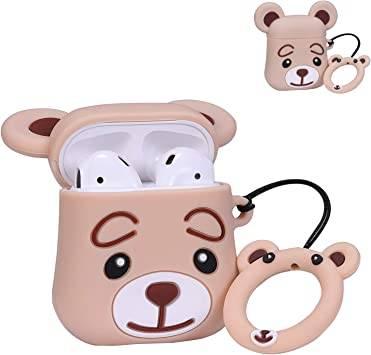 Q Winnie Lalakaka Compatible With Airpods 1 2 Cute Case 3d Cartoon