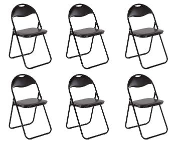 Chaise De Cuisine Ensemble De 6 Chaise Pliante Chaise Pliante Chaise