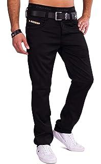 ArizonaShopping - Hosen Herren Stoff Hose Freizeit Coated Jeans Pants  Gewachst 09d4105e5c
