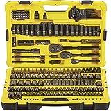 Stanley 229 Piece Professional Black Chrome Socket Set