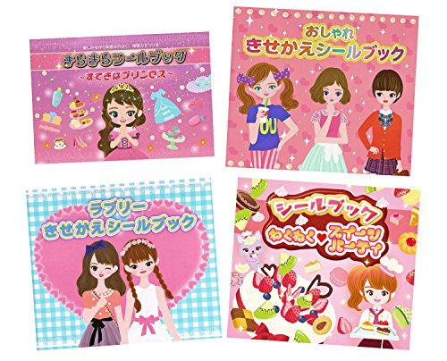 kawaii dress up stickers - 3