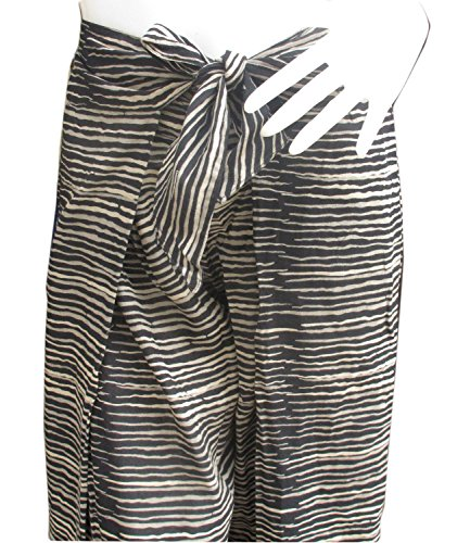 thai danai Presents.Free shpping Fashionable Fine Cotton Pant Tiger Printed Free Size Fit For 26-34 inches Long 40 inches by Thai (Image #2)