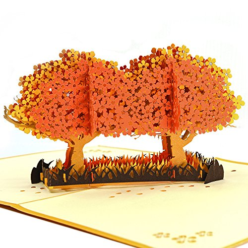 Best deals on cherry blossom business cards products pop up thank you cards kolss 3d card birthday card fathers day cards handmade business cards greeting card cherry blossom trees orange colourmoves