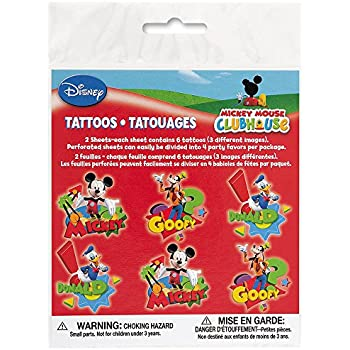 Mickey Mouse Tattoos 12ct