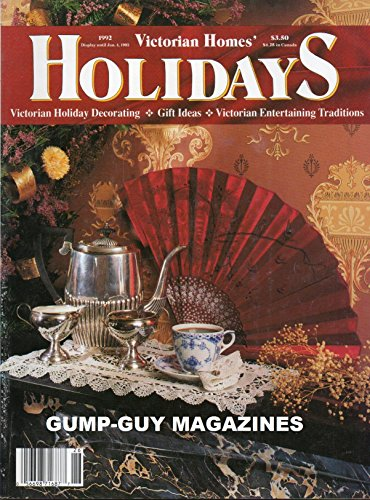 Victorian Homes' HOLIDAYS 1992 Magazine Decorating, Gift Ideas, Entertaining Traditions CHRISTMAS WEDDING RE-CREATED AT ACORN HALL MANSION IN MORRISTOWN, NEW JERSEY Giving (Christmas Party Dress Up Ideas)