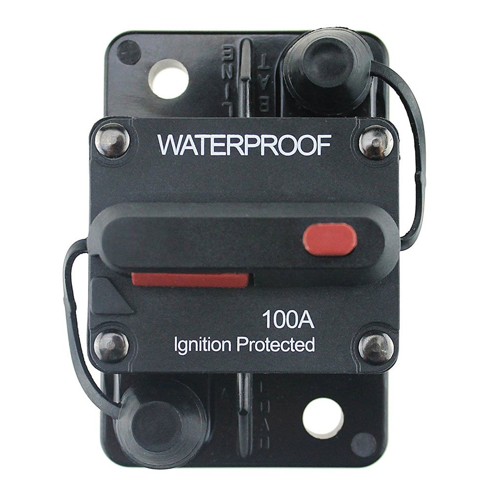Best Rated In Automotive Replacement Circuit Breaker Switches Breakeroverloadmotor Protectornofuse Breakercontrol T Tocas 100 Amp With Manual Reset 12v 48vdc Waterproof