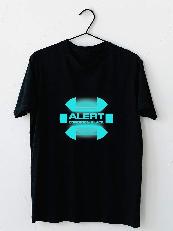 Black Alert Star Trek Discovery 79 T Shirt For Unisex