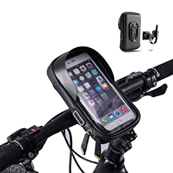 Soporte Bolsa Movil Bicicleta,Soporte Movil Moto Bici Impermeable ...