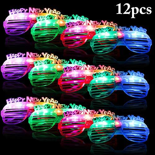 Fascigirl Glow in The Dark LED Glasses, 12
