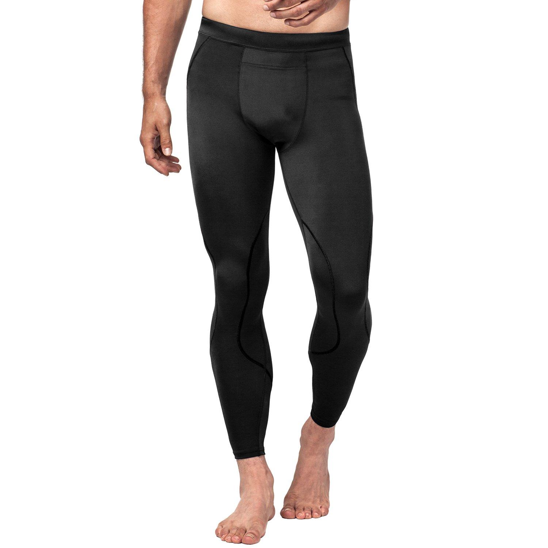 LAPASA Uomo Pantaloni Sportivi a Compressione –Compressione GRADUALE- Running Allenamento Palestra M18