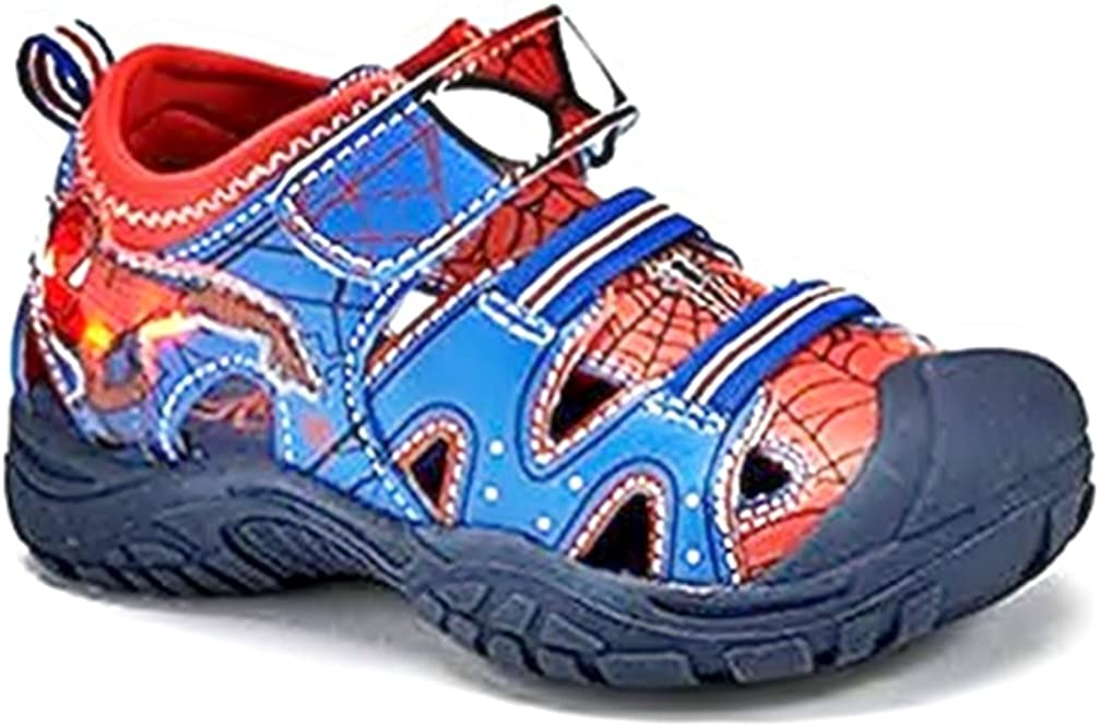 The Amazing Spider-Man 2 Boys Light Up Sandal Size 6