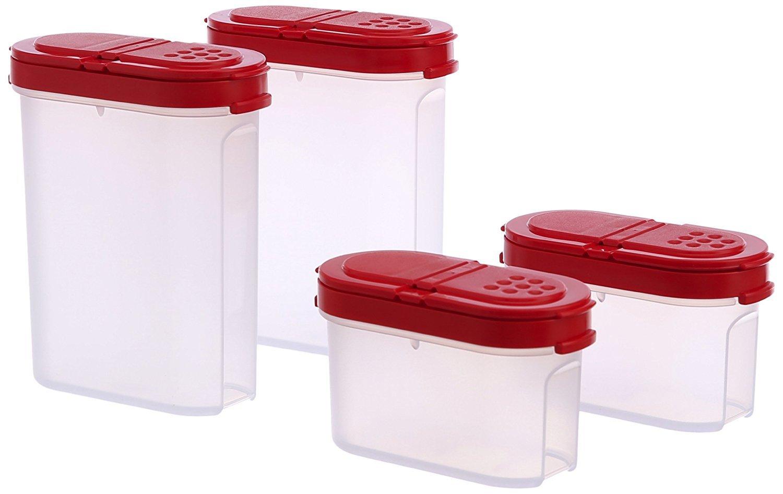 Tupperware Modular Spice Shakers Set, Set di 4(128)
