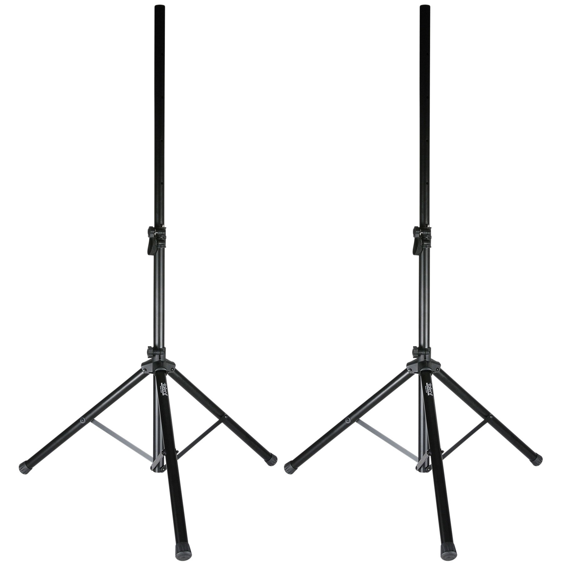 Talent SSGP Gig Pack 5 ft. PA/DJ Tripod Speaker Stand Pair w/Bag by Talent