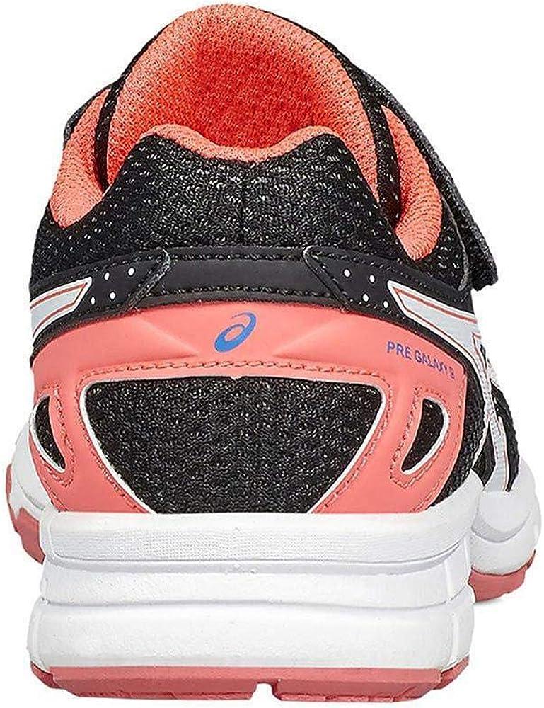 ASICS Mädchen Pre Galaxy 9 Ps Sneaker Schwarz (Negro 000)