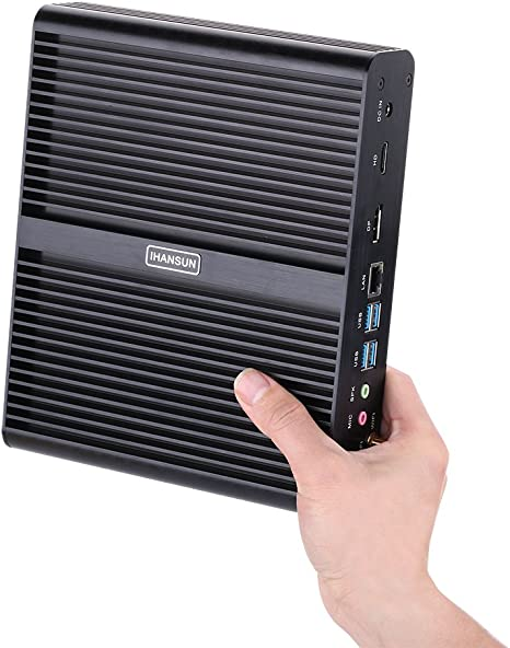 Hunsn 4k Fanless Mini Pc Desktop Computer Server Computer Zubehör
