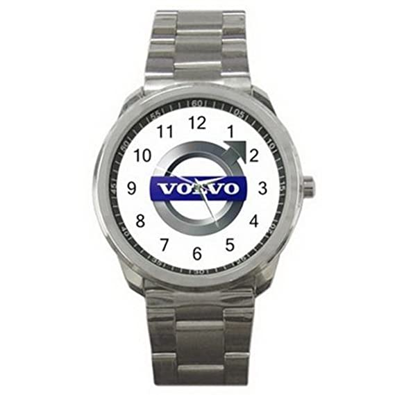 Amazon.com: HSS016 Volvo Car Automobile Logo #A Sport Metal Watch: Watches