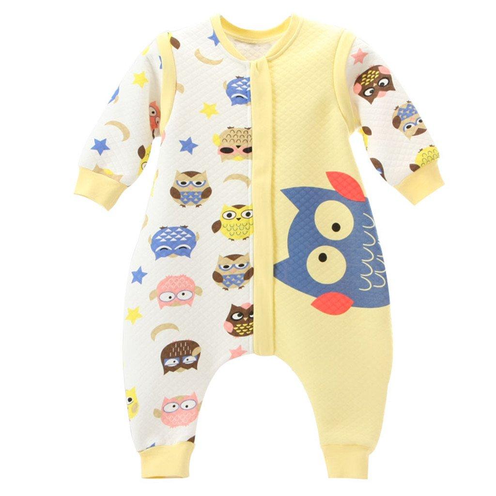 Baby Schlafsack Mit Reißverschluss Beine Getrennt Ärmel abnehmbar 1.5 Tog, Blaue Eule M Huizhou Weiyitian Trading CO. Ltd