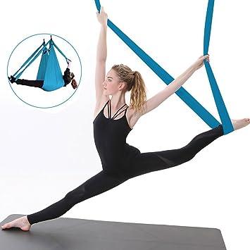 Aerial yoga hamaca Kit Yoga Swing Set con accesorios de ...