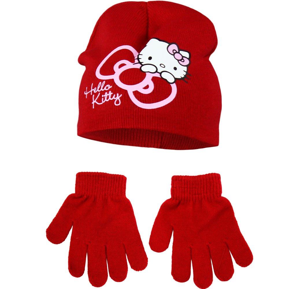 Hello Kitty Hat Gloves Set 974HG