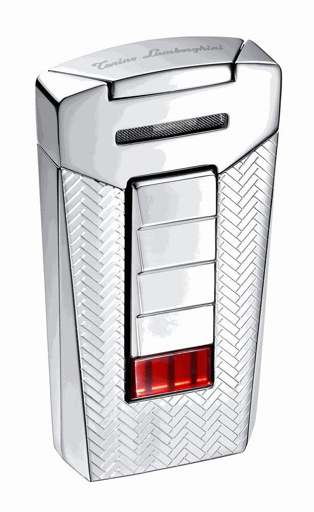 Tonino Lamborghini Aero Interwoven Torch Flame Cigar Lighter