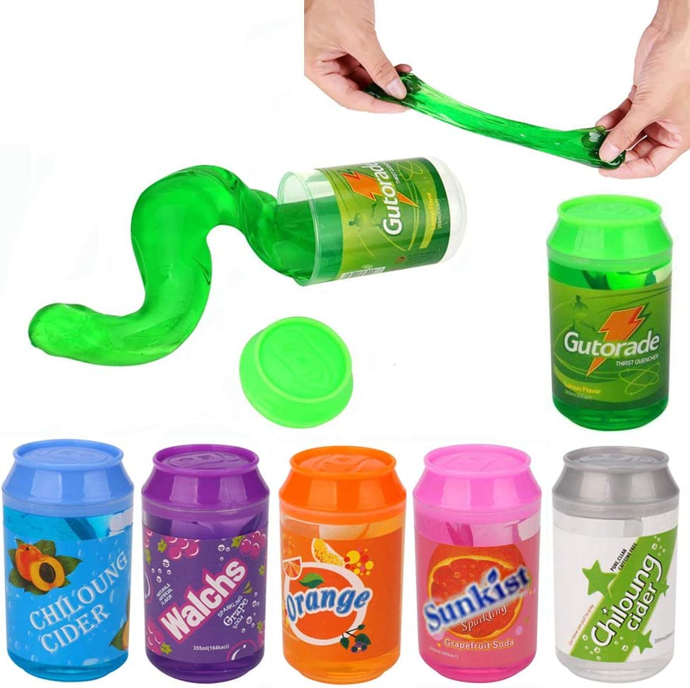 MAGIC CRYSTAL MUD PUTTY COLOURFUL SLIME JELLY MESSY