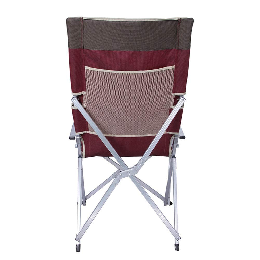Amazon.com: LISAWEI Outdoor Fold Beach Chair Aluminum Alloy ...