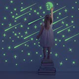 Amazon Price History for:Unomor Glow in Dark Stars and Moon, Glowing Stars for Ceiling and Wall Decals, Perfect for Kids Bedding Room or Party Birthday Gift – 216 pcs
