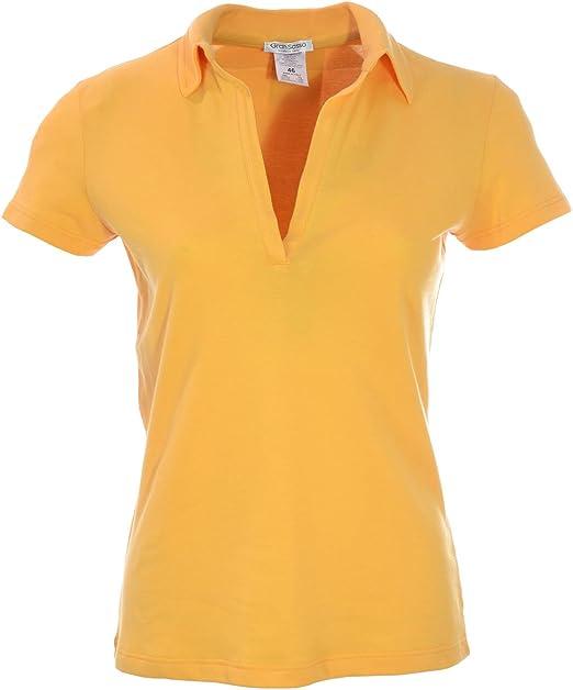 Gran Sasso Polo - Para Mujer Amarillo 42: Amazon.es: Ropa y accesorios