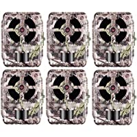 Primos 16 MP Low Glow Proof Cam Trail Camera, Truth Swat, 64055 - 6-Pack