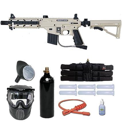 Amazon Com Tippmann Us Army Project Salvo Paintball Gun Player