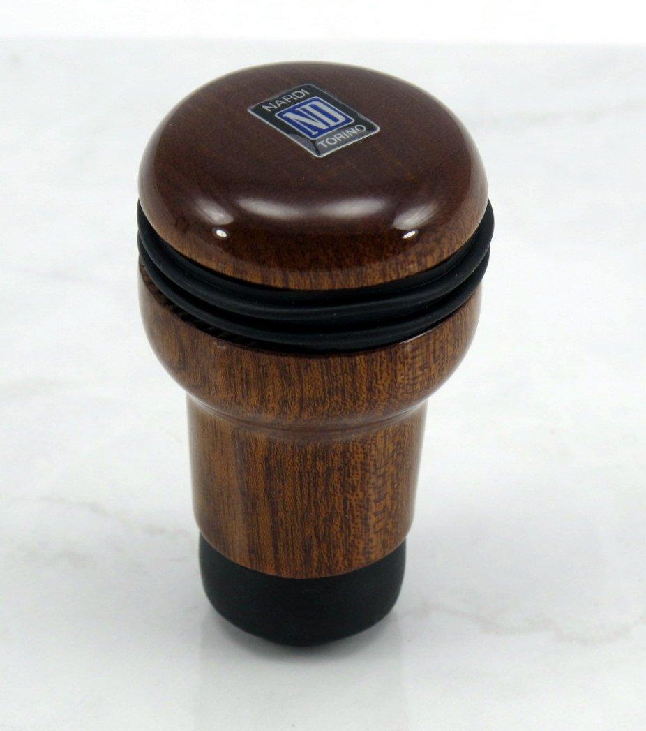 Nardi Gear Shift (Shifter) Knob - Evolution - Mahogany Wood - Part # 3200.00.5000