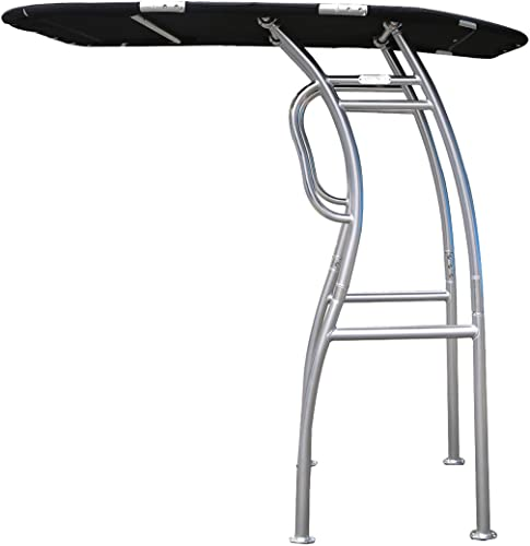 Collapsible  Center Console Fishing Boat T-TOP (Tower Bimini Canopy, Fold Down Shade Roof) [Dolphin] detail review