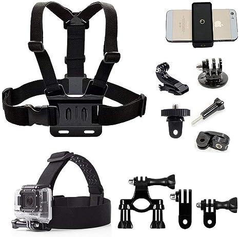 Accesorios para cámara de acción, adaptador de arnés para cabeza ...