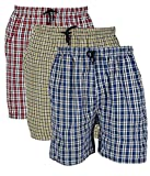BIS Creations Men's Cotton Boxer (Shorts Pack Of 3_Multicolor_Large)