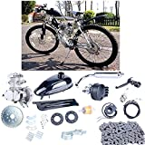 80cc 2 cycle engine motor kit - YaeCCC UPGRADED 80cc 2-Stroke Motor Engine Kit Gas for Motorized Bicycle Bike Silver