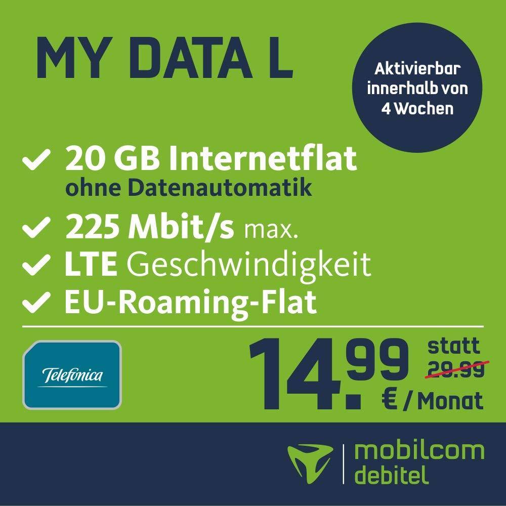 Mobilcom-Debitel 1GB LTE Smart Surf Internet Flat Max
