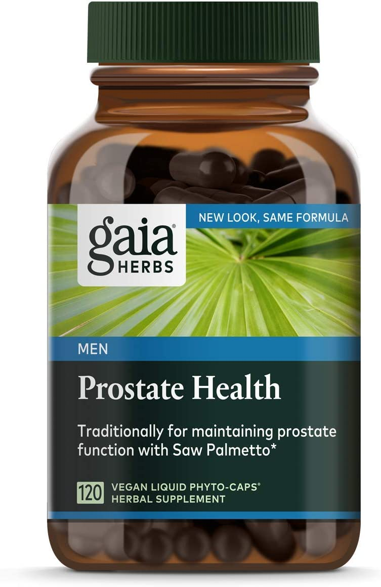Gaia Herbs Prostate Health Liquid Phyto-Capsules, 120 Count